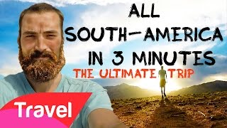 Backpacking South America | 5 Months in 3 Minutes | The Trip Of A Lifetime | HD GOPRO Backpaco