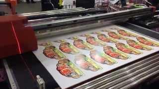 Печать на пластике планшетный УФ-принтер Allwin AW 160UV(, 2014-12-30T08:42:41.000Z)