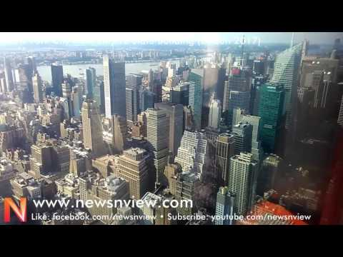 Empire State Building New York USA | View of New York and Manhattan | NY City Tour