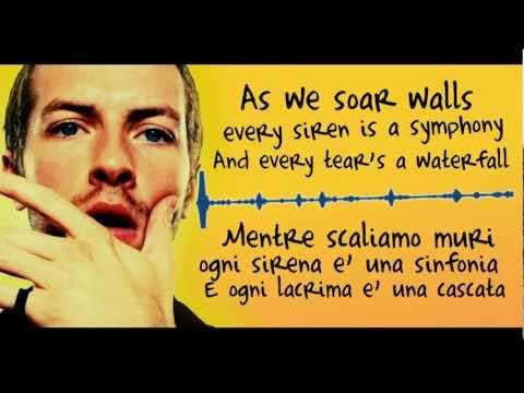 Coldplay - Every teardrop is a waterfall (Lyrics + Traduzione)