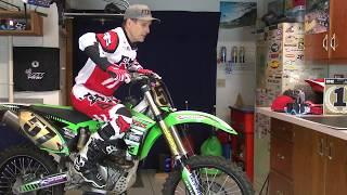 How to Practice Motocross in your garage.
