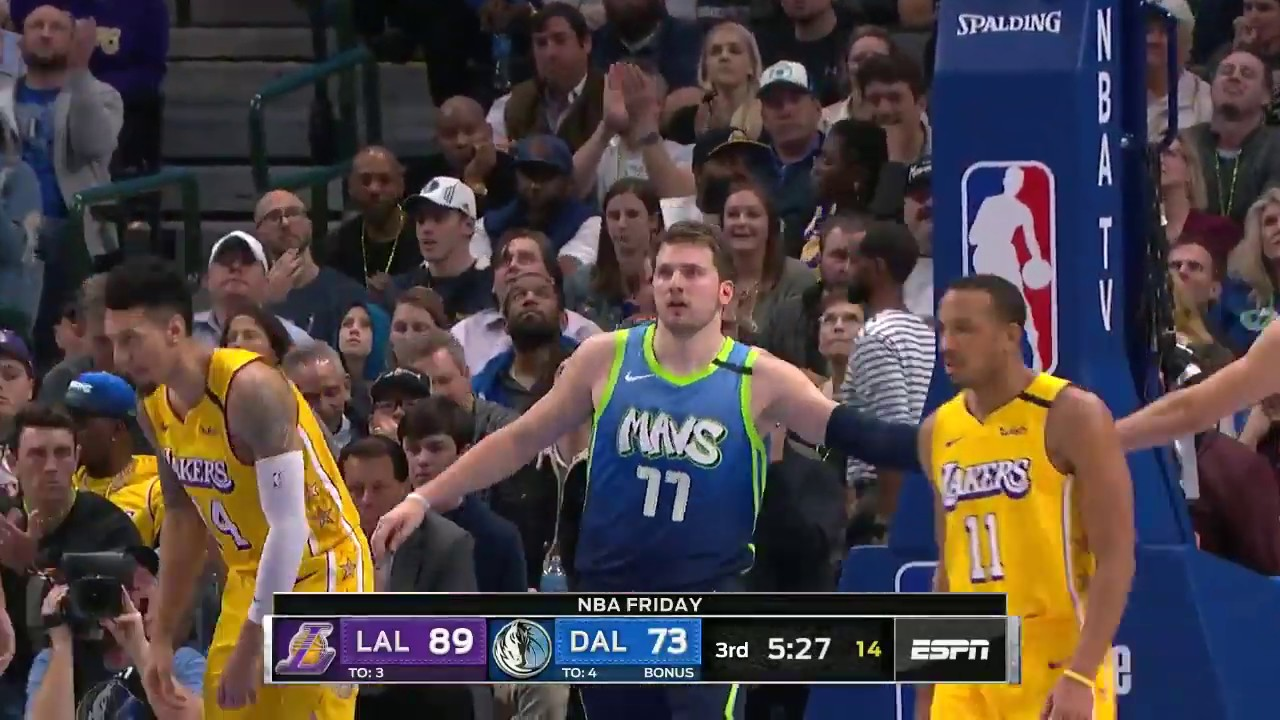 Luka Doncic 25 Points Highlights Vs La Lakers