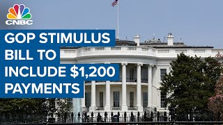 GOP stimulus bill will include $1,200 direct payments, more PPP and unemployment relief