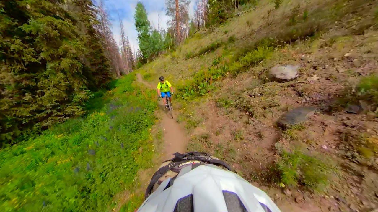 Mountain Bike The Snowy Range in 360 VR!