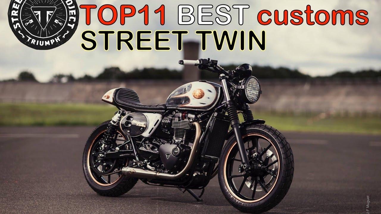 cafe racer (2016 top 12 best triumph street twin customs) - youtube
