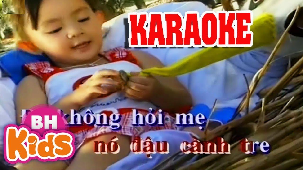 KARAOKE Con Cò Bé Bé – Bé Xuân Mai