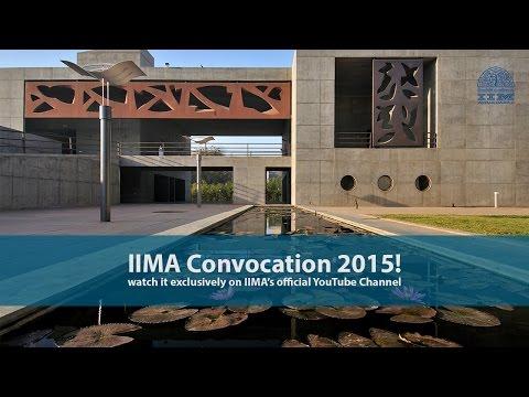 IIMA Convocation 2015