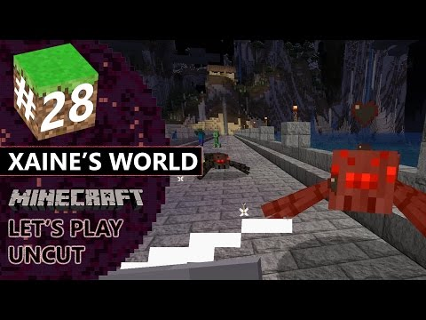 "Minecraft Let's Play UnCut Episode 28 ""Yer Buildin' and then..."""