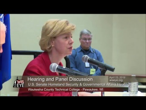 Morning Minute: U.S. Sen. Tammy Baldwin (D) Wisconsin Opening Remarks