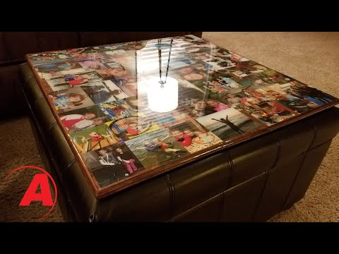 DIY Epoxy Clear Coated Game Board | Alumilite