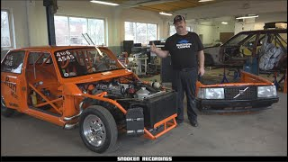 Rundbergs Volvo 240 1000whp Dragrace Monster