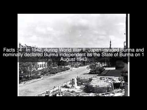 Japanese occupation of Burma Top  #7 Facts