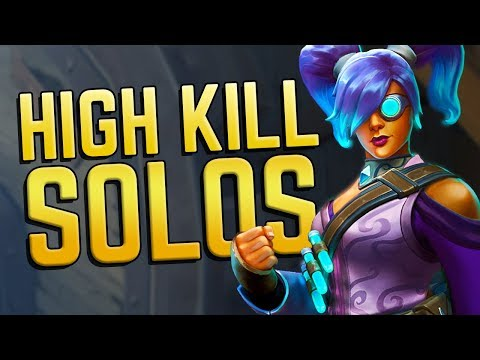 High Kills Solo Action! | Realm Royale Mage Gameplay