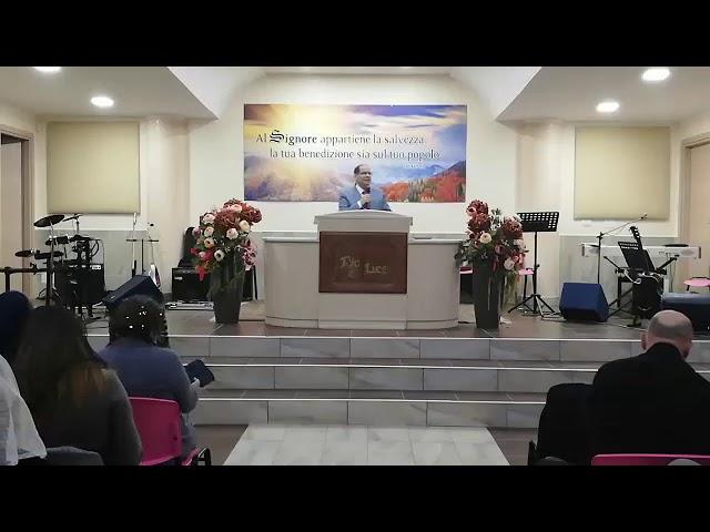 Tu non morirai.Pastore Archetto Brasiello.II Re 20:14-21