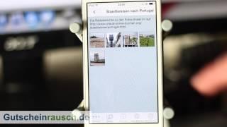 urlaub-online-buchen.org App im Test auf Gutscheinrausch.de