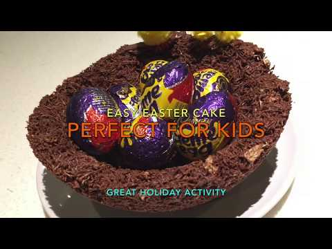DavydDoes: Crafternoon: Easy Easter Cake