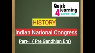Indian National Movement | INC in Tamil/English |