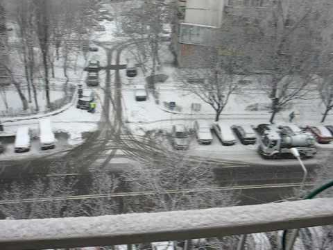 Winter time in Bucharest