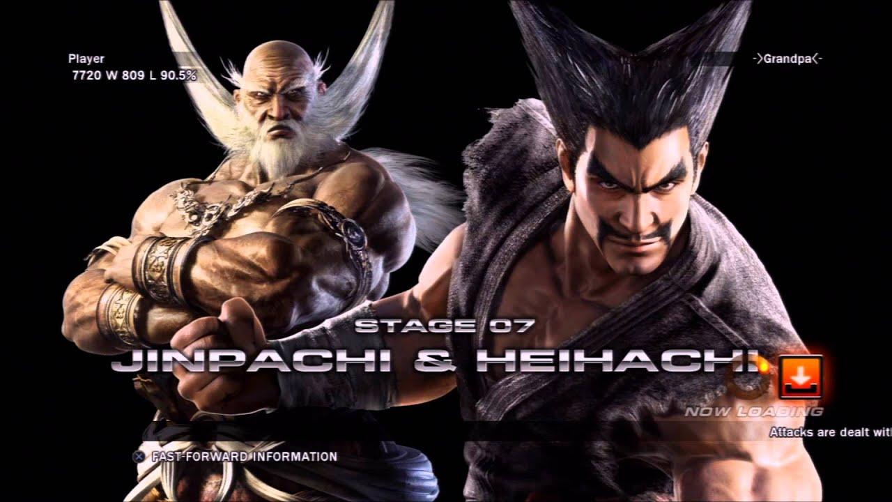 Tekken Tag Tournament 2 Arcade Playthrough Hwoarang Baek Youtube