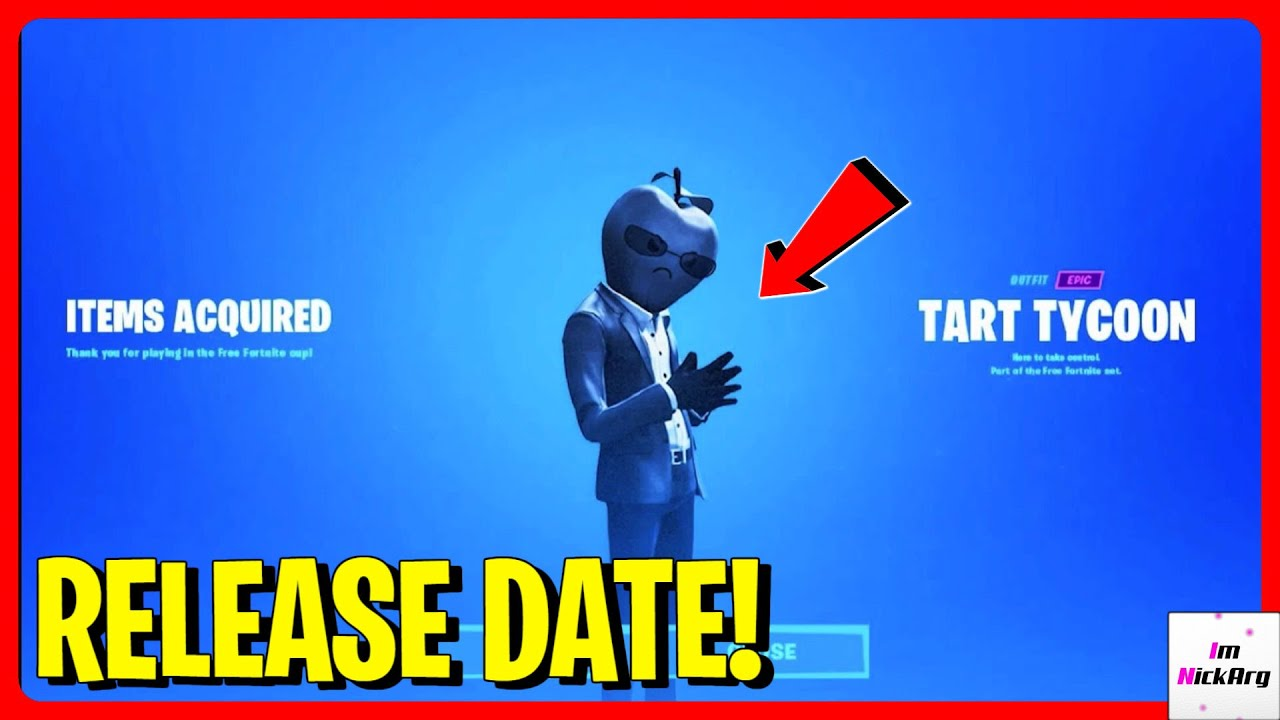 Tart Tycoon Skin RELEASE DATE! (Apple Skin) | How to get ...