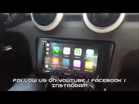 Apple Carplay in Audi A1 with Kenwood DMX7017DABS 2DIN Unit