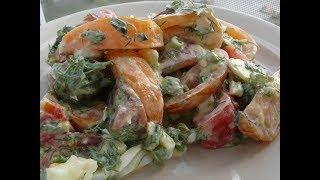 Простой салат на каждый день