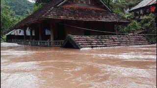 Nghệ An: Nhiều bản làng ngập sâu gần 4 mét