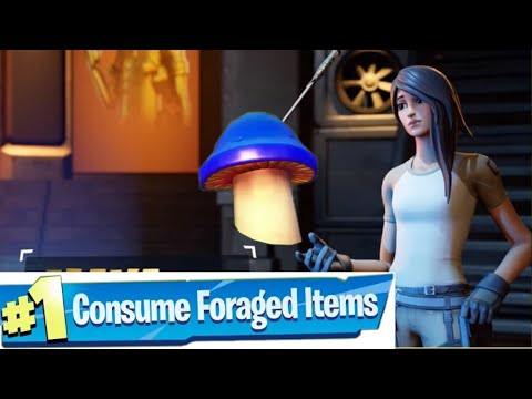 Consume foraged items (DAILY CHALLENGES)Fortnite Capter 2 Season 2