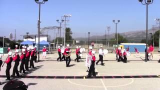 Redwood Viking Band Practice  - Fillmore Parade