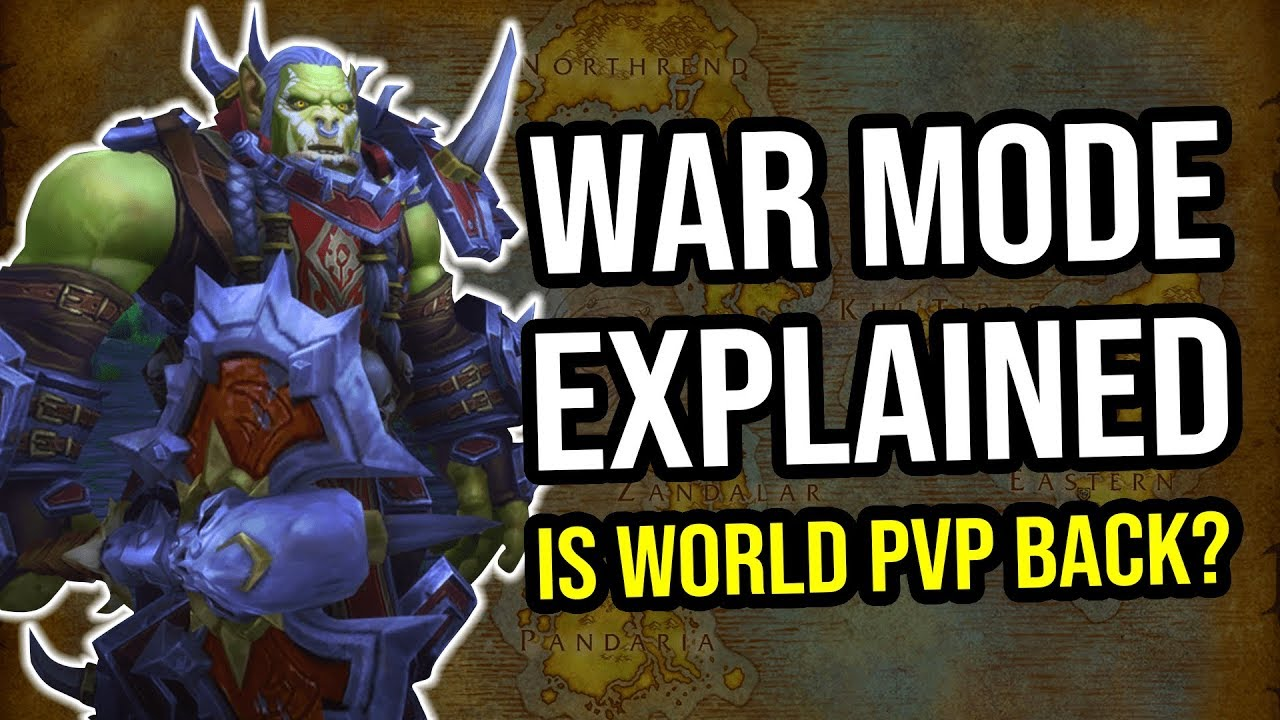 War Mode Explained - No More PvP Servers in WoW!