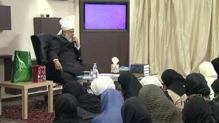 Gulshan-e-Waqfe Nau (Lajna) Class: 27th November 2011 (Urdu)