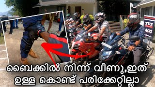 This Guy Survived from accident!! TVS AOG Ride In Kerala