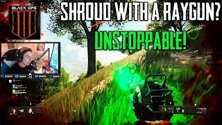 SHROUD found a RAYGUN! Call of Duty: Black Ops 4 - Battle Royale #4