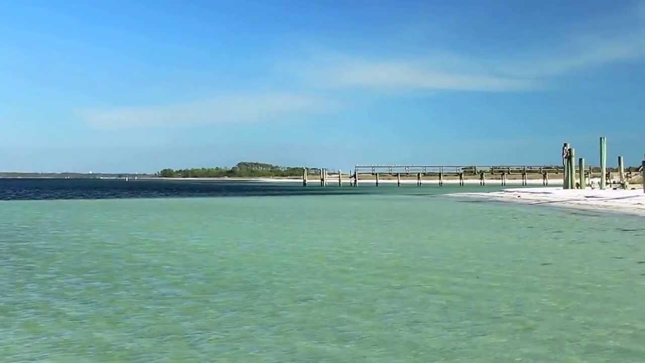 shell island adventures in panama city beach - youtube