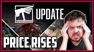 Games Workshop Price Rises   Bad Timing   Burying Bad News?