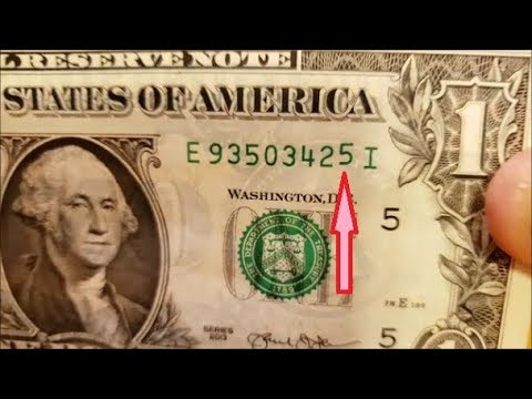 MAJOR MISPRINT SERIAL NUMBER - Finding Profit In Pocket Change