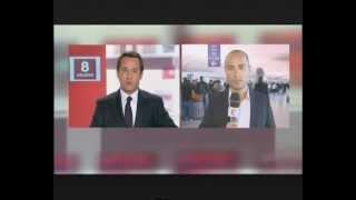 FRANCE 2 : Yacine BEN JANNETTE en direct de CDG