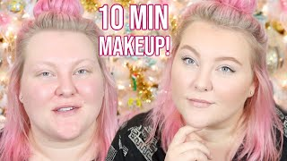 How To Look Put Together in 10 Minutes: My 10 Min. Fast & Easy Makeup Routine! | Lauren Mae Beauty