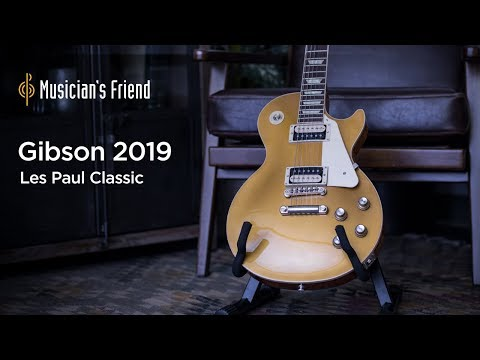 Gibson 2019 Les Paul Classic Electric Guitar Demo - YouTube