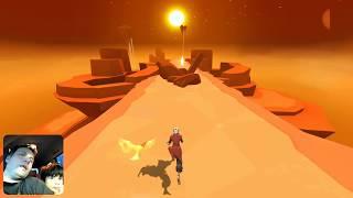 RUNNER NOS CÉUS - Sky Dancer - GAME GRÁTIS PARA CELULAR - Gameplay em Português PT-BR