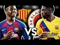 ANSU FATI OR OUSMANE DEMBELE? Barcelona vs Slavia Praha (Champions League) Match Preview | BugaLuis