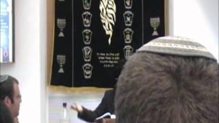 הרב יעקב בן חנן שיעור בבסיס חיל האויר נבטים