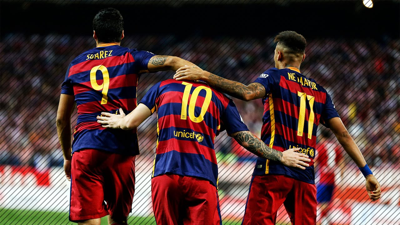 Fc Barcelona Top 10 Goals In La Liga 2015 2016 Hd