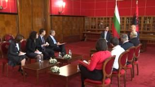 Kryeministri Rama pret Ministrin e Jashtëm të Bullgarisë Vigenin
