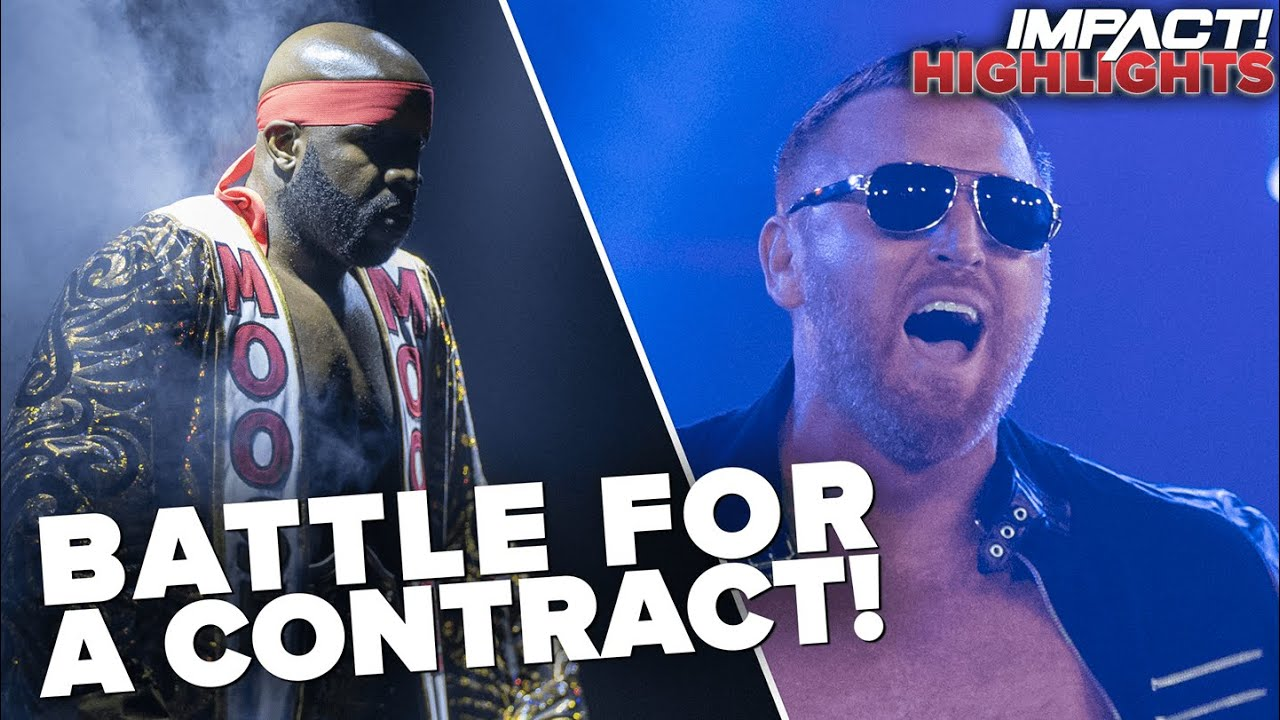 Heath Fights FOR A JOB in Championship Battle with Moose!   IMPACT! Highlights Aug 4, 2020
