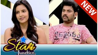 Actor Vimal & Priya Anand in Star Junction (02/11/2014)