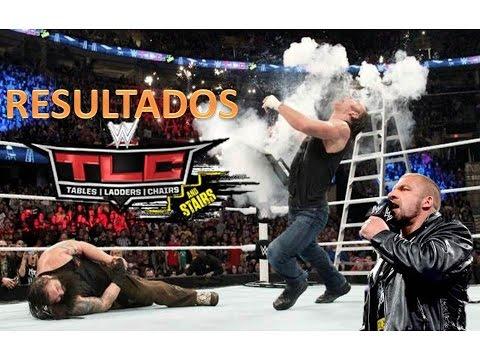 WWE Resultados TLC 2014