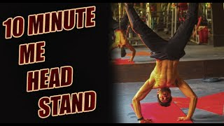 Learn How to do a Headstand from Scratch I Beginners guide to headstand