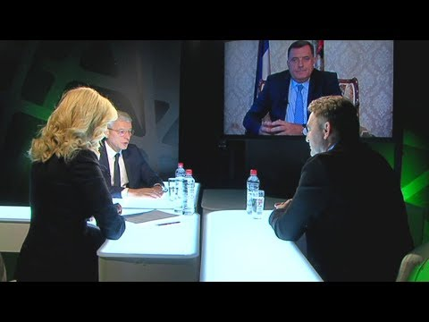 Kopča sa Nikolinom Veljović - Gost Šefik Džaferović, Željko Komšić i Milorad Dodik