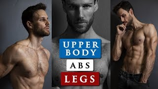 MALE MODEL WORKOUT ROUTINE | How to get a body like a male model